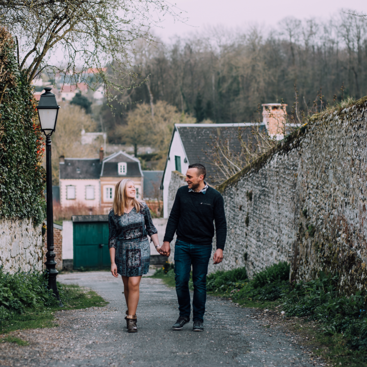 Engagement | Laura + Valentin | Saint-Valery-sur-Somme