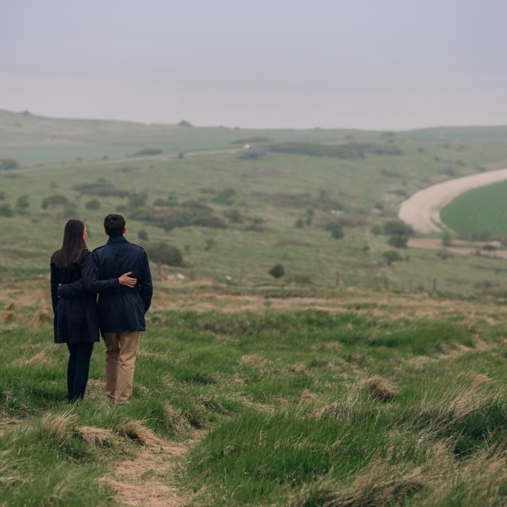 Engagement | Pauline + Guillaume | Cap Blanc Nez