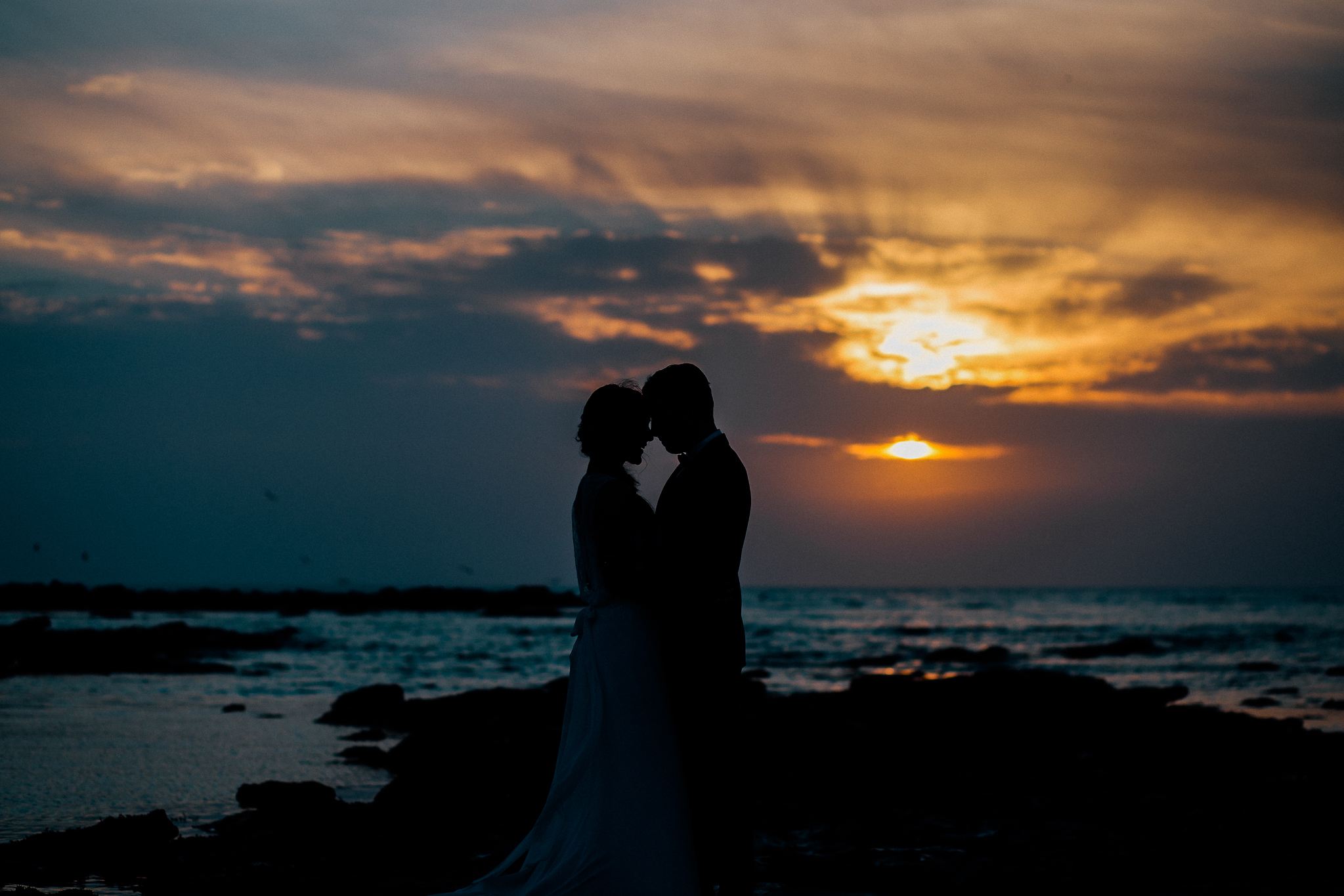 Day After, After Day, Mariage Côte d'Opale, Photographe de mariage Côte d'Opale, Dixie Martin Photography, plage, beach, sunset, coucher