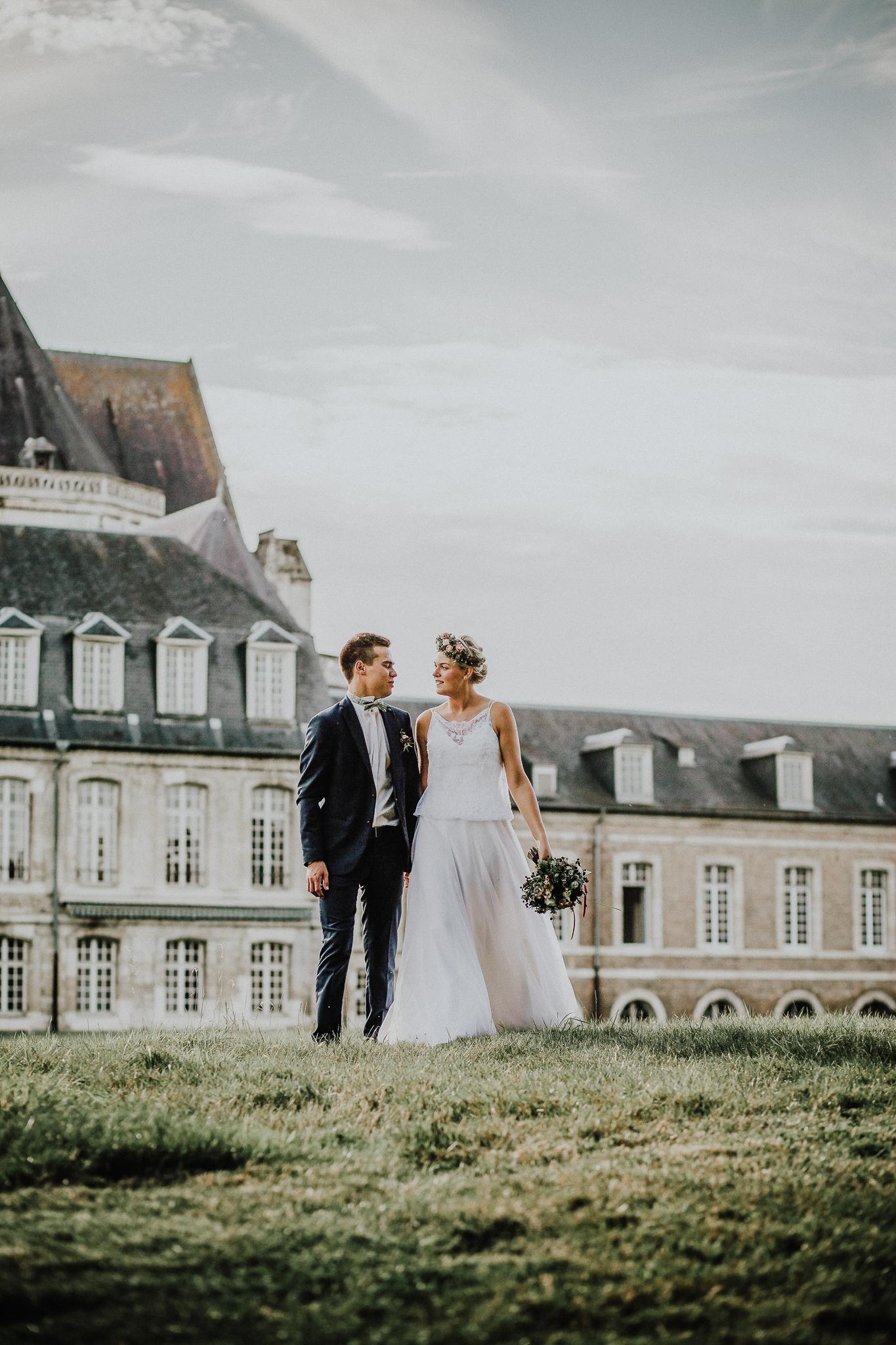 Dixie Martin Photography, Day After, Photographe de Mariage Baie de Somme, Abbaye de Saint Riquier