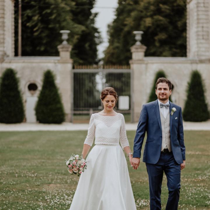 mariage | M+C|Château de Couturelle